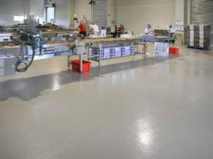 Промышленные полы для помещений пищевой промышленности