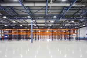 Промышленные полы для складов